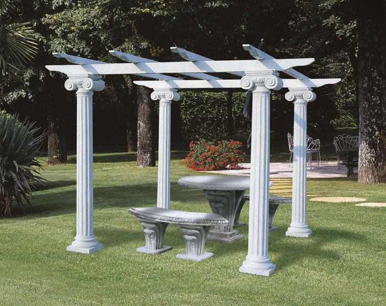 garden pillars. Colonna Colosseo (One Column), Chiosco Garden Pillars C