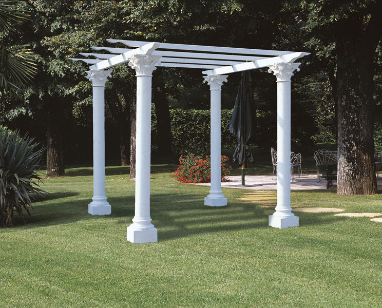Stone Garden Columns and Pillars